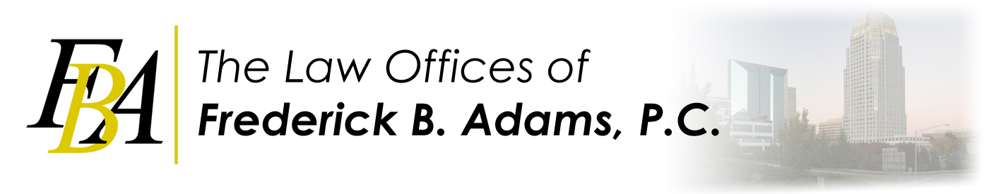 Law Office of Frederick B. Adams Logo
